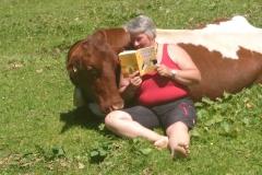 Auch Kühe möge es, wenn man vorliest